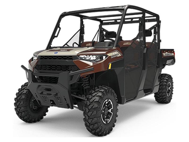 2019 Polaris Ranger Crew XP 1000 EPS 20th Anniversary Limited Edition in San Diego, California - Photo 1