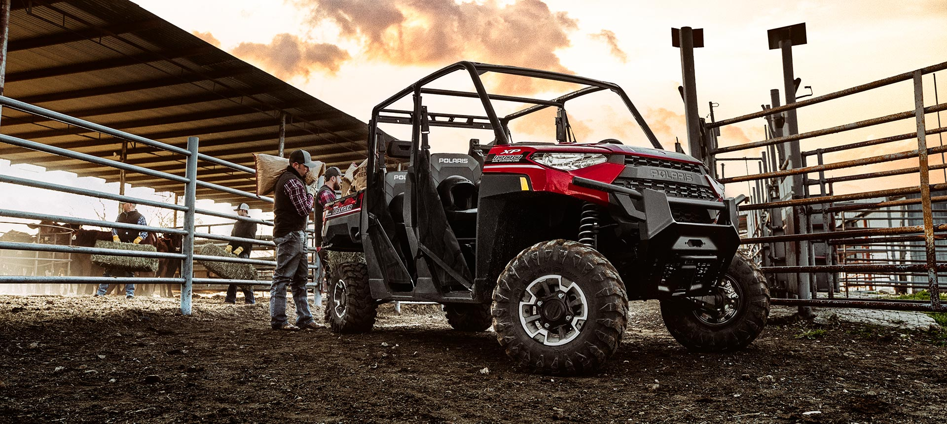 2019 Polaris RANGER CREW XP 1000 EPS NorthStar Edition Ride Command in Monroe, Michigan