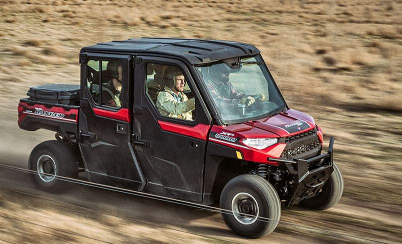 2019 Polaris Ranger Crew XP 1000 EPS NorthStar HVAC Edition in Clovis, New Mexico