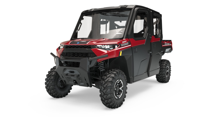 2019 Polaris Ranger Crew XP 1000 EPS NorthStar HVAC Edition in Leesville, Louisiana