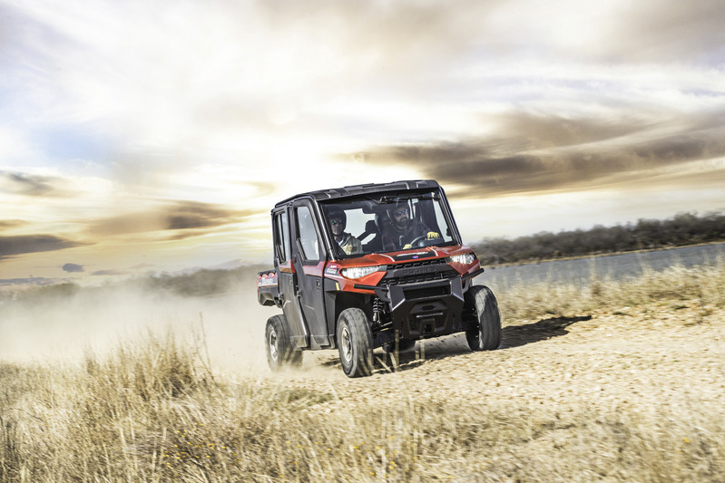 2019 Polaris Ranger Crew XP 1000 EPS NorthStar HVAC Edition in San Diego, California