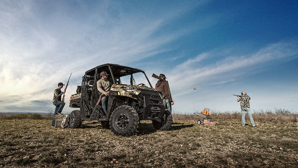 2019 Polaris RANGER CREW XP 1000 EPS Ride Command in Monroe, Michigan - Photo 2