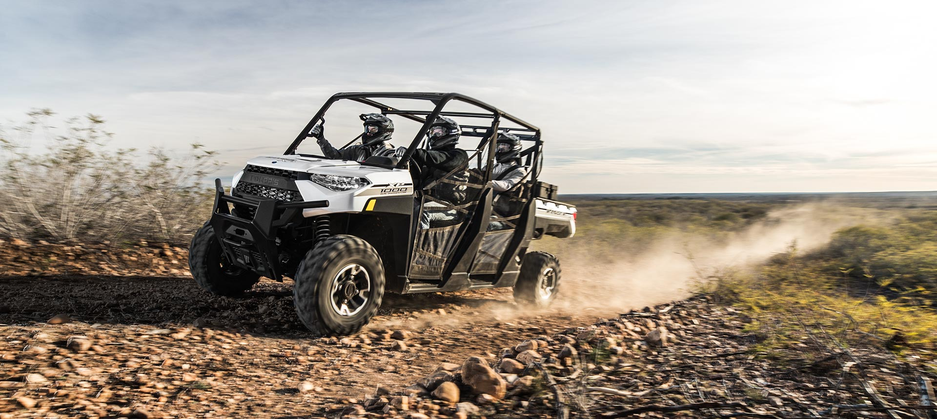 2019 Polaris RANGER CREW XP 1000 EPS Ride Command in Castaic, California - Photo 9