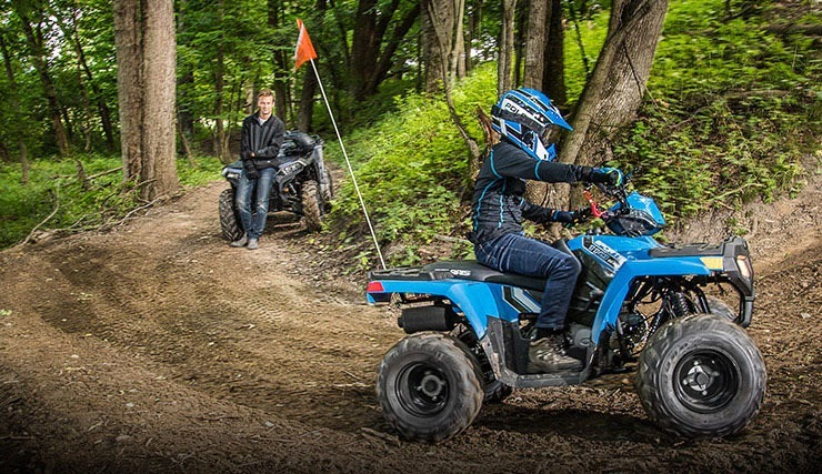 2020 Polaris Sportsman 110 EFI in Littleton, New Hampshire - Photo 2