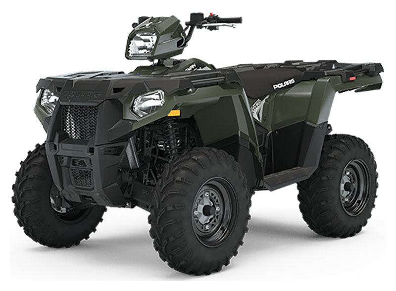 2020 Polaris Sportsman 450 H.O. EPS (Red Sticker) in Saint Johnsbury, Vermont - Photo 1