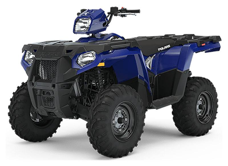 2020 Polaris Sportsman 450 H.O. EPS (Red Sticker) in San Diego, California - Photo 1