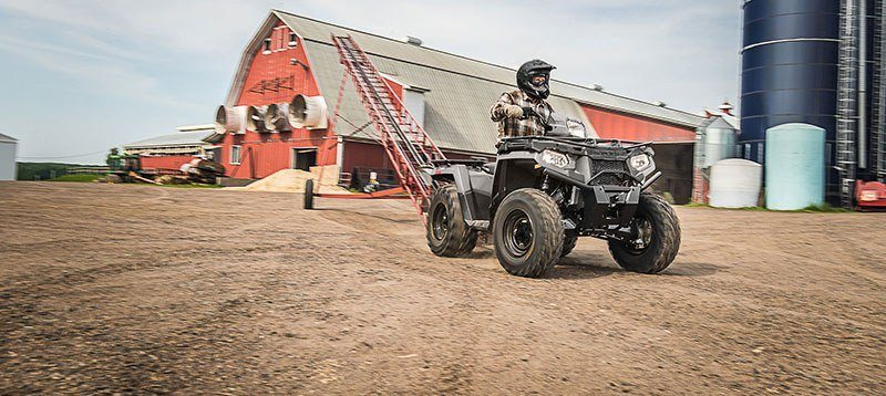 2019 Polaris Sportsman 450 H.O. Utility Edition (Red Sticker) in Elk Grove, California - Photo 9