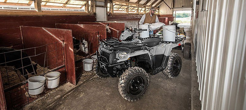 2019 Polaris Sportsman 450 H.O. Utility Edition (Red Sticker) in Pierceton, Indiana - Photo 4