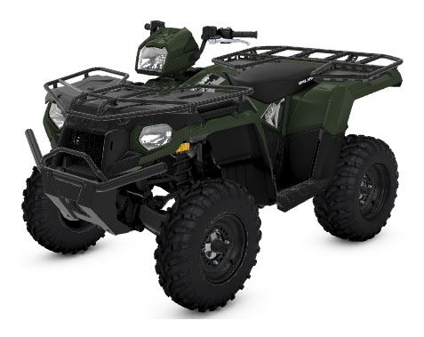 2020 Polaris Sportsman 450 H.O. Utility Package (Red Sticker) in Brilliant, Ohio - Photo 1