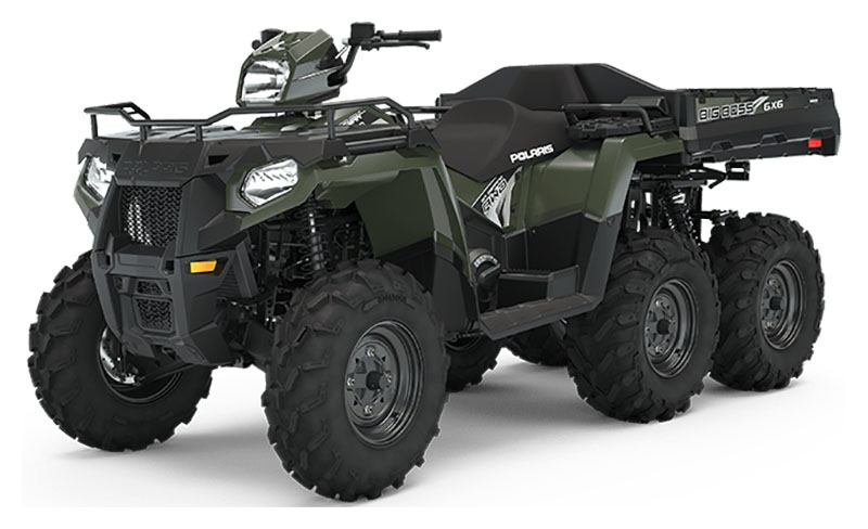 2020 Polaris Sportsman 6x6 570 (Red Sticker) in Danbury, Connecticut - Photo 1