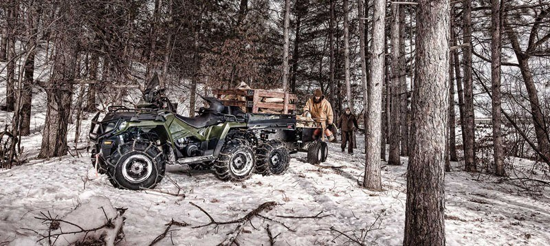 2020 Polaris Sportsman 6x6 Big Boss 570 EPS in Duck Creek Village, Utah - Photo 8