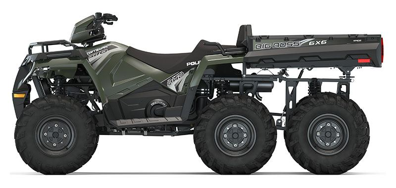 2020 Polaris Sportsman 6x6 Big Boss 570 EPS in Saint Johnsbury, Vermont - Photo 2