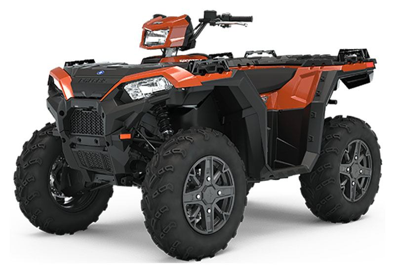 2020 Polaris Sportsman 850 Premium (Red Sticker) in Saint Clairsville, Ohio - Photo 1
