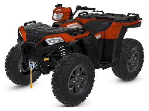 2020 Polaris Sportsman 850 Premium Trail Package in Monroe, Michigan