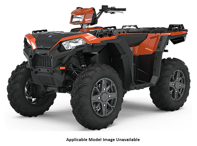 2020 Polaris Sportsman 850 Premium Trail Package (Red Sticker) in Sturgeon Bay, Wisconsin - Photo 1