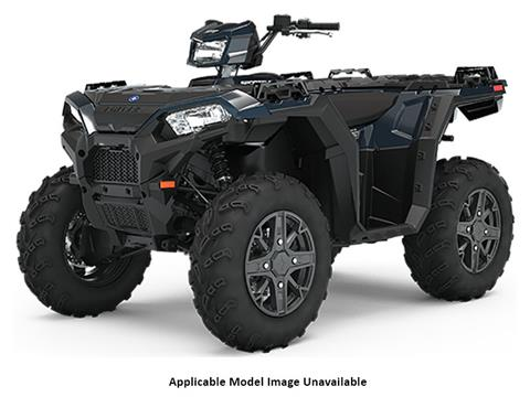 2020 Polaris Sportsman 850 Premium Trail Package (Red Sticker) in Newport, Maine - Photo 1