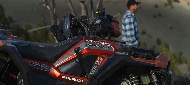 2020 Polaris Sportsman 850 Premium Trail Package (Red Sticker) in Auburn, California - Photo 3