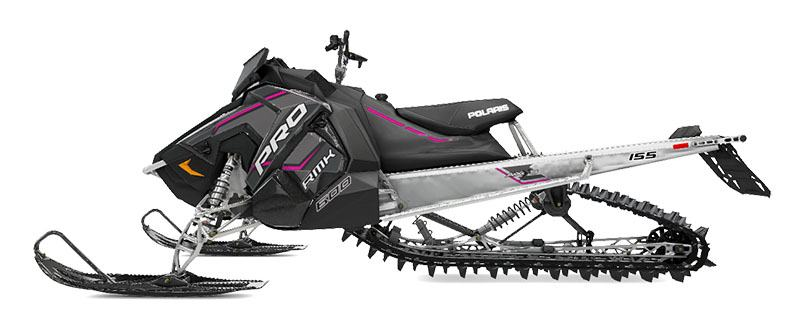 2020 Polaris 600 PRO-RMK 155 SC in Kaukauna, Wisconsin