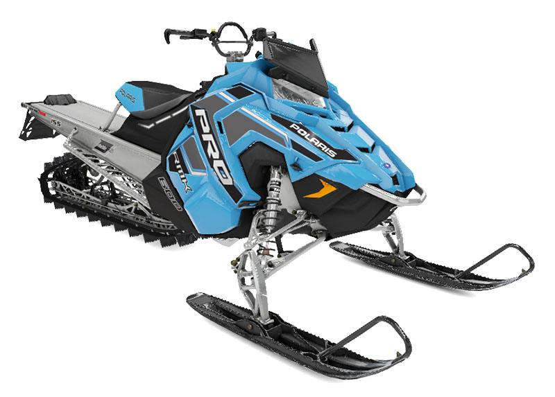 2020 Polaris 600 PRO-RMK 155 SC in Chippewa Falls, Wisconsin