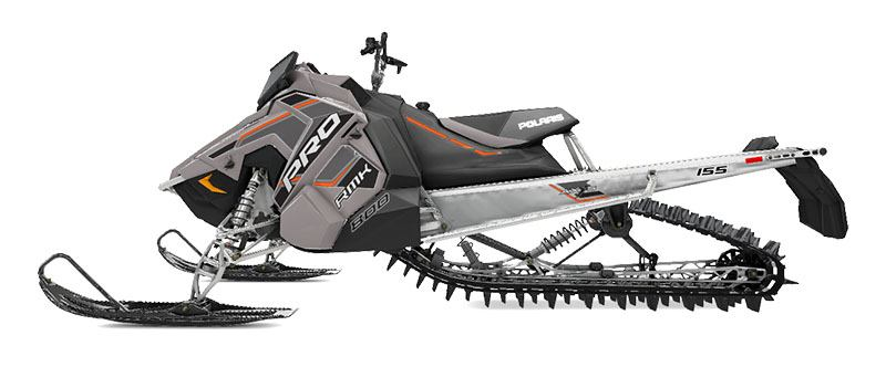 2020 Polaris 800 PRO RMK 155 SC 3 in. in Mio, Michigan - Photo 2