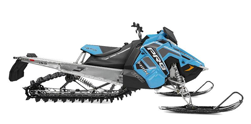 2020 Polaris 800 PRO-RMK 155 SC 3 in. in Park Rapids, Minnesota