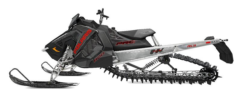 2020 Polaris 800 PRO-RMK 163 SC 3 in. in Newport, Maine