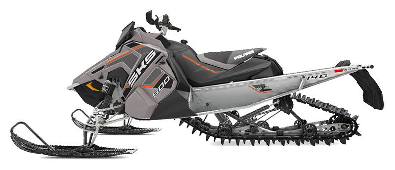 2020 Polaris 800 SKS 146 SC in Soldotna, Alaska - Photo 2