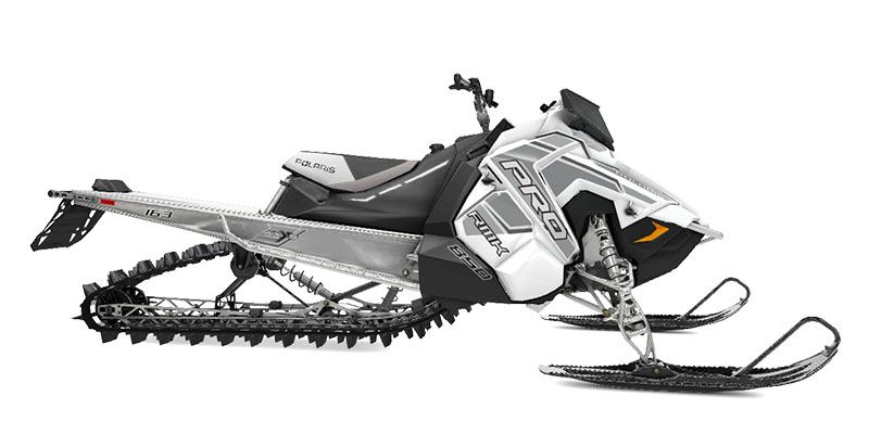 2020 Polaris 850 PRO-RMK 163 SC in Barre, Massachusetts