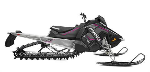 2020 Polaris 850 PRO-RMK 163 SC 3 in. in Munising, Michigan