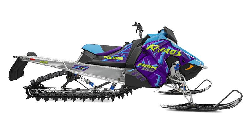 2020 Polaris 850 RMK Khaos 155 SC 3 in. in Auburn, California - Photo 1