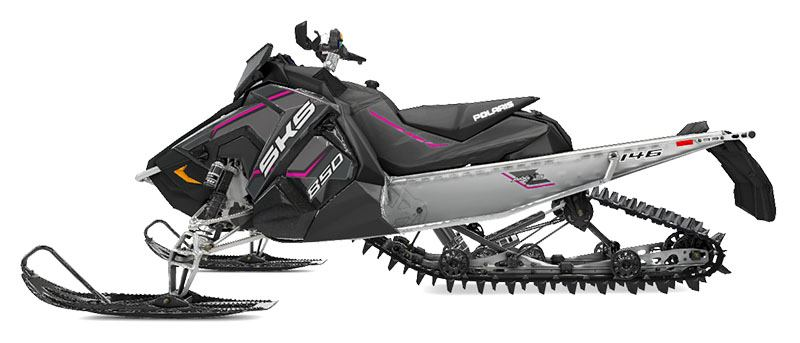 2020 Polaris 850 SKS 146 SC in Lincoln, Maine - Photo 2