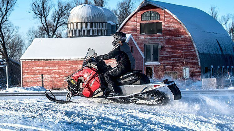 2019 Polaris 800 INDY XC 129 Snowcheck Select in Ponderay, Idaho