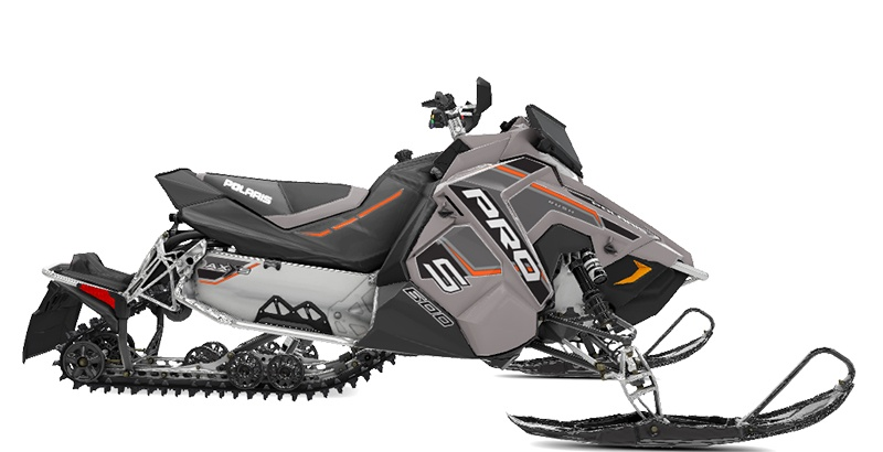 2020 Polaris 600 RUSH PRO-S SC in Center Conway, New Hampshire