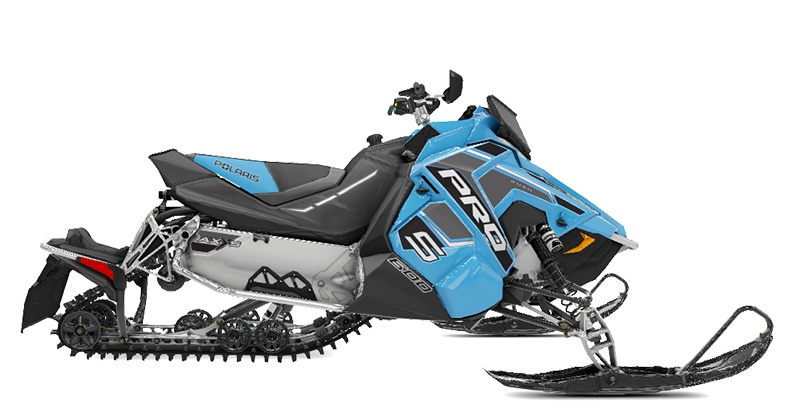 2020 Polaris 600 RUSH PRO-S SC in Newport, Maine