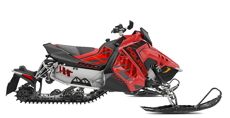 2020 Polaris 800 RUSH PRO-S SC in Center Conway, New Hampshire