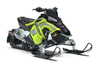 2019 Polaris 600 RUSH PRO-S 1.25 RIPSAW II SnowCheck Select in Baldwin, Michigan