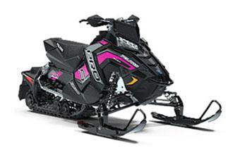 2019 Polaris 600 RUSH PRO-S 1.25 RIPSAW II SnowCheck Select in Woodruff, Wisconsin