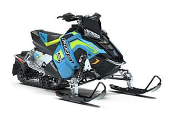 2019 Polaris 600 RUSH PRO-S 1.25 RIPSAW II SnowCheck Select in Hillman, Michigan