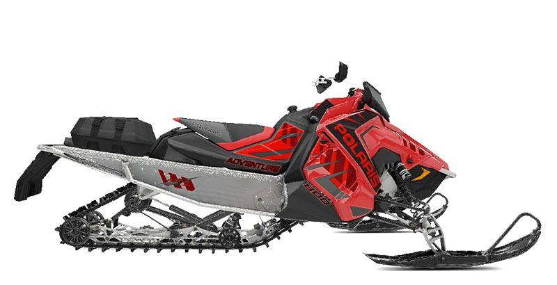 2020 Polaris 800 Indy Adventure 137 SC in Barre, Massachusetts