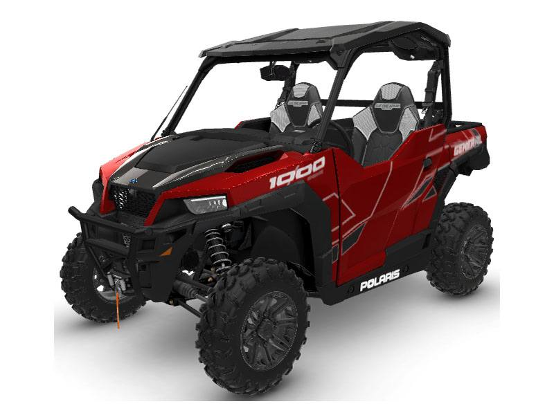 2020 Polaris General 1000 Deluxe Ride Command Package in Afton, Oklahoma