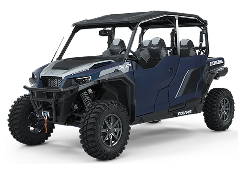 2020 Polaris General XP 4 1000 Deluxe Ride Command Package in Cambridge, Ohio