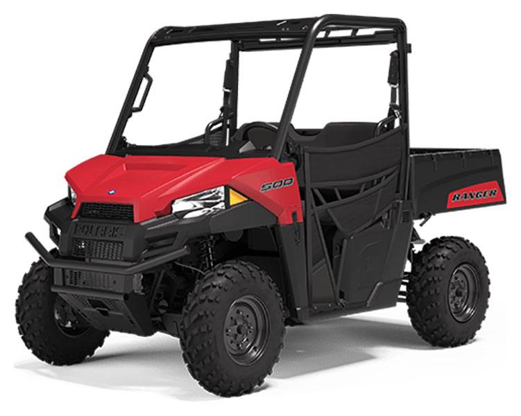 2020 Polaris Ranger 500 in Kansas City, Kansas - Photo 1