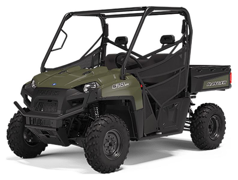 2020 Polaris Ranger 570 Full-Size in Monroe, Michigan - Photo 1