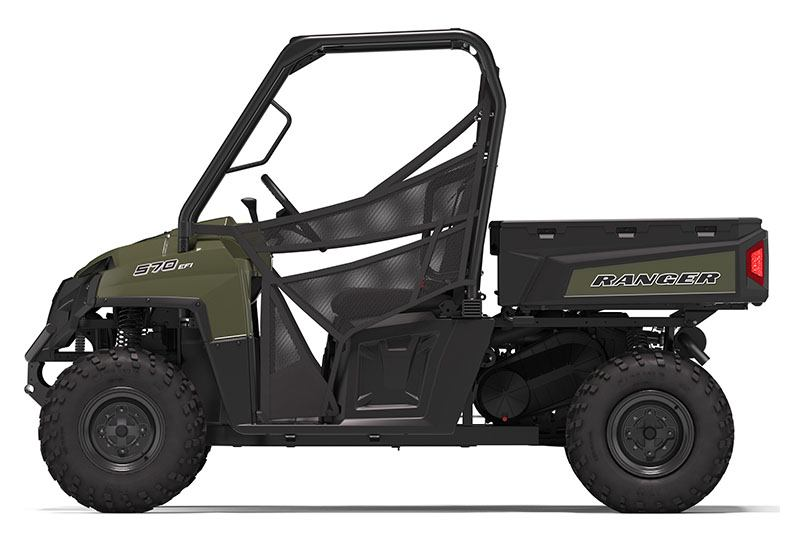 2020 Polaris Ranger 570 Full-Size in Santa Rosa, California - Photo 2