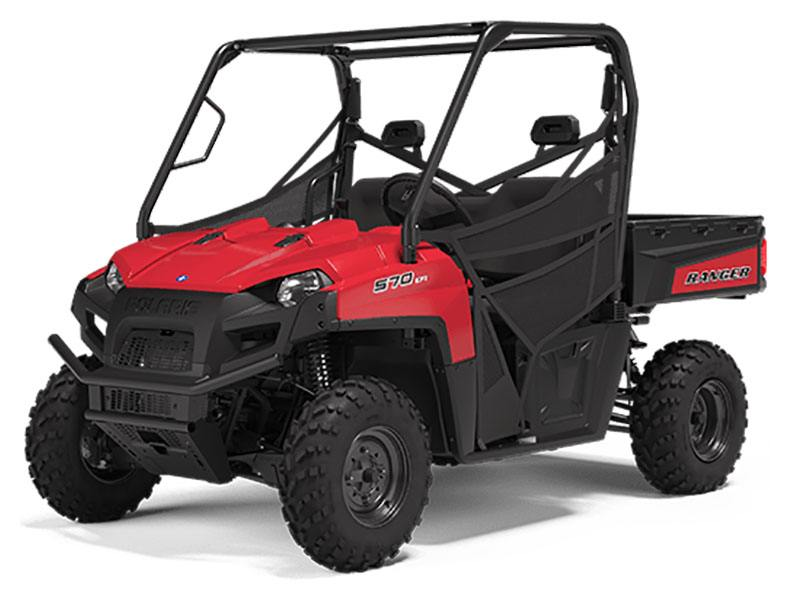 2020 Polaris Ranger 570 Full-Size in Redding, California - Photo 1