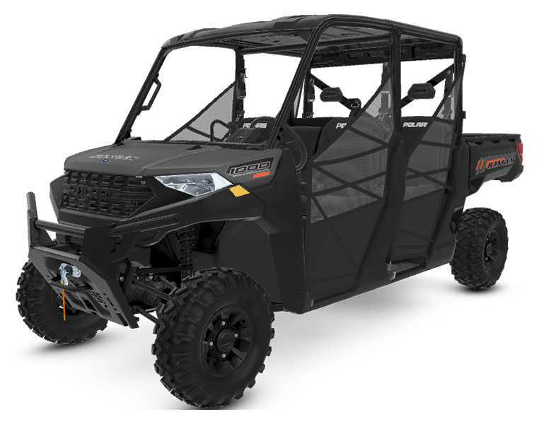 2020 Polaris Ranger Crew 1000 Premium Winter Prep Package in Hollister, California - Photo 1