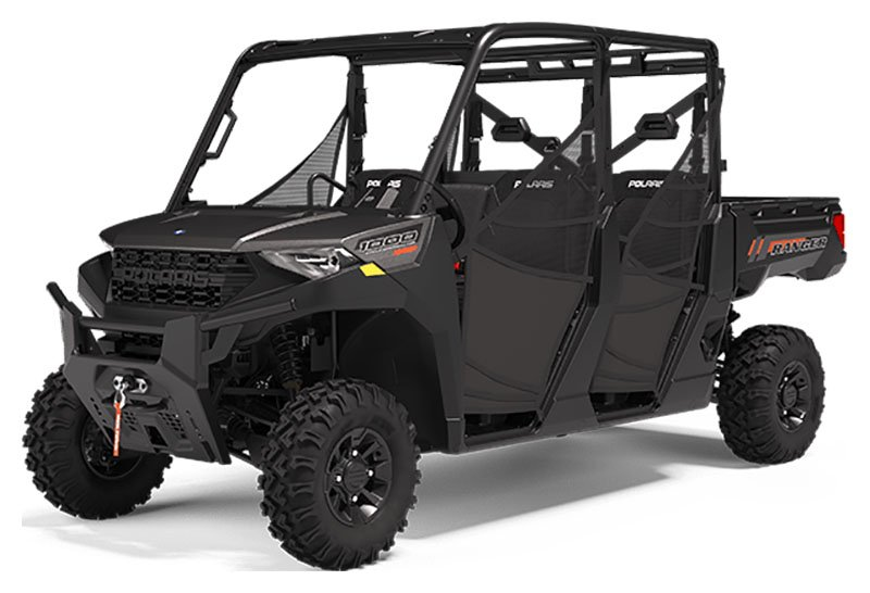 2020 Polaris Ranger Crew 1000 Premium + Winter Prep Package in Savannah, Georgia - Photo 1