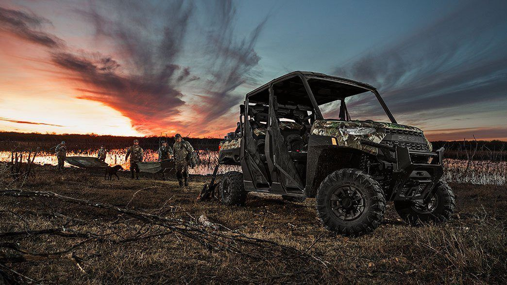 2019 Polaris Ranger Crew XP 1000 EPS Premium in Barre, Massachusetts