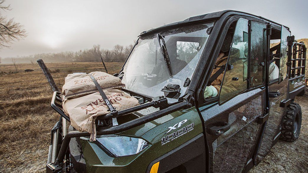 2019 Polaris Ranger Crew XP 1000 EPS Premium in Elkhart, Indiana