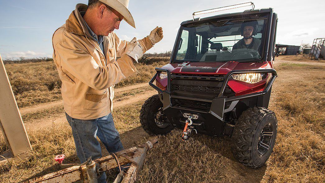 2019 Polaris Ranger Crew XP 1000 EPS Premium in Merced, California